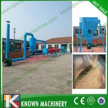 The ideal capacity range 300kg/h to 5000 kg/h sawdust drum dryer