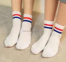 Korea style unisex women men wholesale socks cheap socks