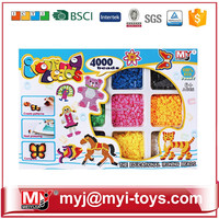 Direct selling plastic funny perler beads toy raw material of intelligence building blocks BT-0059