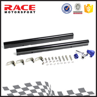 High Flow Aluminium Fuel Injector Rail Kit, LS1 Car Billet Fuel Rail Kit, Performance Fuel Rail Assembly for Racing Auto