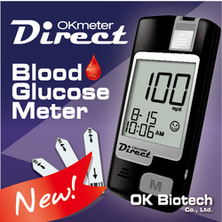 OKmeter Direct (Eject) Blood Glucose Meter from Taiwan Medical Equipment Manufacturer
