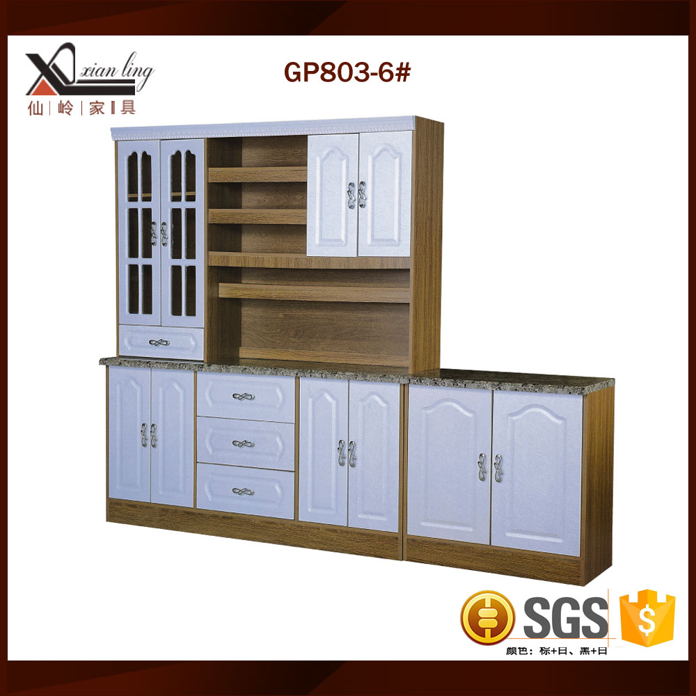 Portable Melamine Kitchen Cabinets With Price - Buy Portable Kitchen ...
