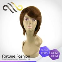 Custom Shape Printed Factory Direct Price Lace T Free Part Human Hair Wig Makers