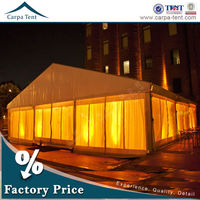 Water resistant polycarbonate rain shelter 300 persons event tent for sale