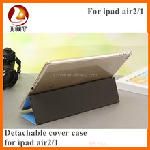 PU leather Material and for ipad air 2,For Apple iPad Compatible Brand smart leather cover case for ipad air 2
