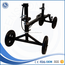health care product double brake knee scooter with knee support wholesale for Indoor Outdoor