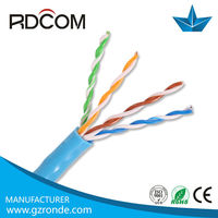 China factory indoor&outdoor cheap high quality 305m pull box of 305 m cat5e utp cable