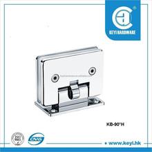 zinc alloy material new product shower hinge of glass shower door hinge