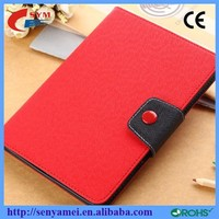 2015 Cheap Price Stand PU Leather Flip Case For iPad 2 3 4 5 6 Tablet