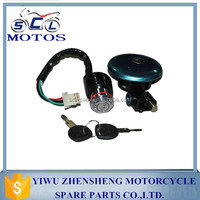 SCL-2013030186 GN125 Lock Set Motorcycle Parts Two keys