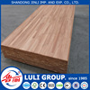 rubberwood finger jointed laminated board for stair railing made by LULIGROUP China manufacture since 1985