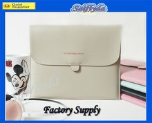 High quality leather portable bags for ipad 2 new ipad 3