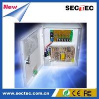 Input:AC220V; Output:DC12V, 20A, 18Outputs, fuse type: glass(Default) or PTC Camera Accessories