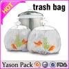 Yasonpack mini trash bags hdpe trash bag blue trash bag