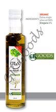 OTaN Oregano Seasoned Organic Olive Oil