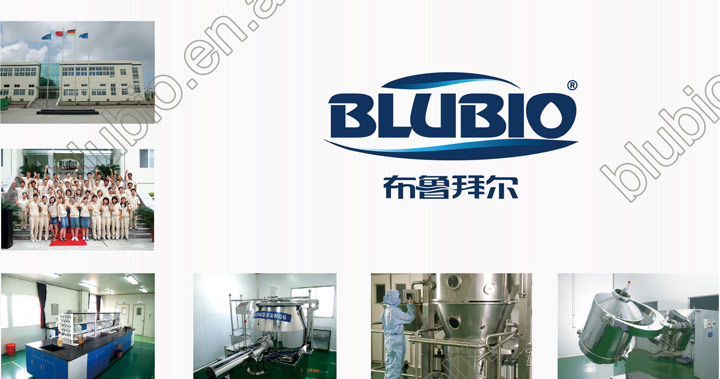 OEM manufacturer BluBio Spirulina tablet slimming product