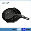 Alibaba wholesale non-stick metal material skillet