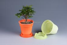 biodegradable cornstarch disposable plastic plant pots