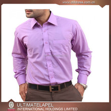 latest fashion design men's office shirts