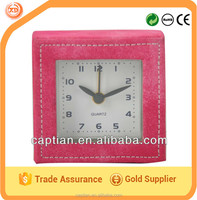 Multi leather carpet alarm clock