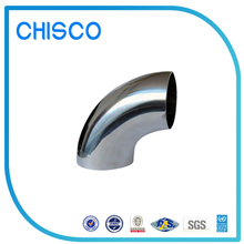 Chisco Polished Surface 201 / 304 / 316 Stainless Steel Pipe Fitting