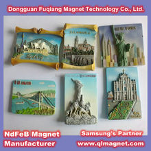 3D soft PVC Sights Design Flexible Rubber Magnet sheet strip for Refrigerator Door