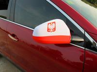 Hot selling promotion car windsock flags at factory price