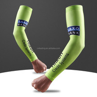 Wholesale Custom Digital Sublimated Print Bicycle Arm Sleeve Men High Quality Breathable Arm Sleeves