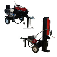 Classical type 28T Vertical or Horizontal CE gasoline engine automatic log splitter