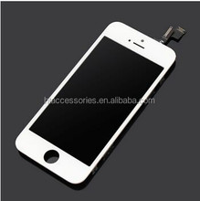 New arrival LCD and Digitizer Assembly for iPhone 5S from Aftermarket Supplier WHITE