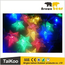 colorful star shaped new style led christmas light