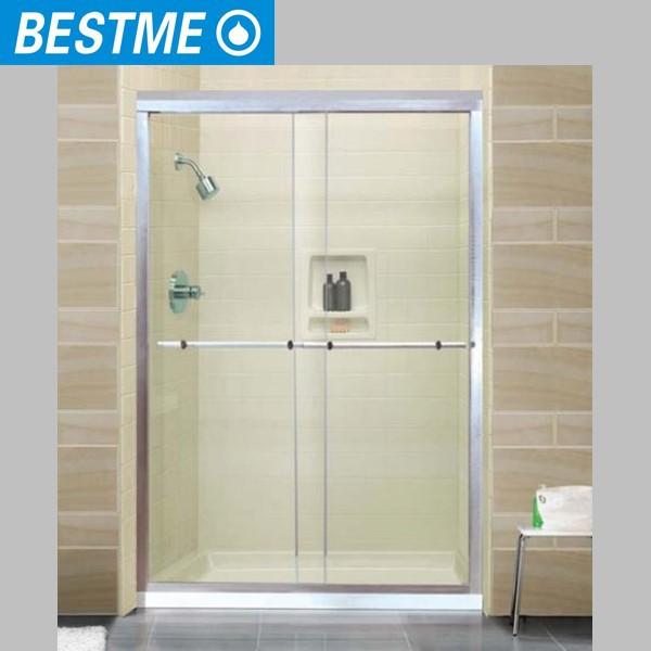 Shower door types different types of shower doors the for Types of sliding glass doors