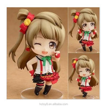 Wholesale 10cm PVC 458# Q version love live Minami Kotori Japanese cartoon characters action figure