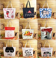 Customized cotton canvas promotion Recycle organic cotton tote bags wholesale