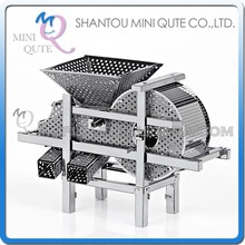 Mini Qute 3D Metal Puzzle Silver Farm Thresher building Adult kids collection model educational toys gift NO.P031-S