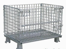 Evergreat Zinc-coated stackable wire mesh container
