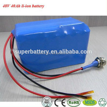 High capacity li-ion rechargeable battery 48v 40ah battery pack