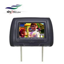 7 inch touch keys headrest dvd player,car dvd player