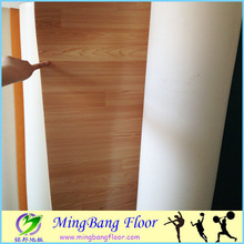 Low price laminate PVC hockey/roller skating vinyl flooring roll