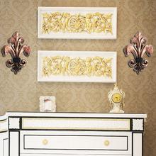 resin decorative flower wall art decor