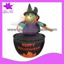 2015 Gus-LTHW-005 Animated Halloween inflatable witch for party decoration