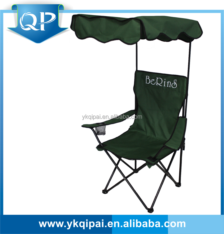 Cheap Foldable Beach Lounge Chair With Canopy And Cup Holder Buy Beach Loun