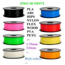 FDM 3D Printing material 1.75mm PLA Plastic Filament