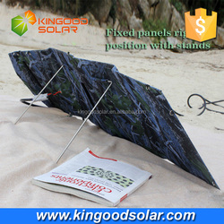 2016 New Products arriving 60watt Portable foldable solar panel charger for car