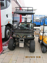 four seater electric hunting vehicle | 48V electric golf cart