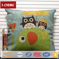 Hot Sale Creative Cartoon Animals Design Printed Cushion Home Decor Pillow Case Fashion Cushion Covers Cat