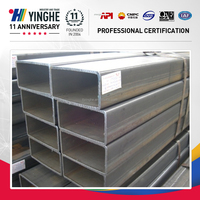 Hot sale product on Alibaba.com carbon square/rectangular pipe price per ton made in china
