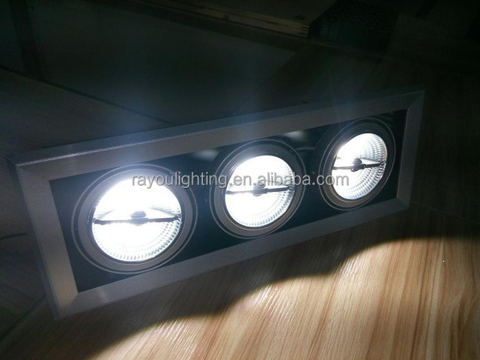15w ar111 lighting effect