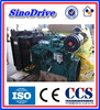 2014 new 6 cylinder 92kw generator set water cooled diesel engine 6BT5.9-G1 mechanical pump genset for sale
