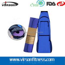 Quality unique eco friendly tpe yoga mat with yoga bag
